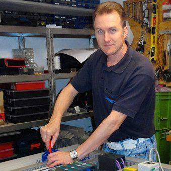 Andrija Nemet, Inhaber von AN.Elektronik
